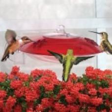 Droll Yankees Window Hummer 3 Hummingbird Feeder